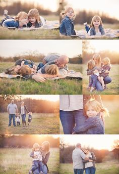 So loving and natural! I love every single thing about these photos! Nothing looks posed, just gorgeous!