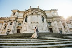 Nicole & Anthony ~ Wedding in Rome