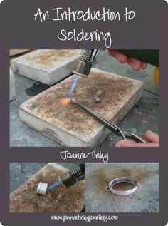 An Introduction To Soldering - a free ebook by Joanne Tinley Jewellery