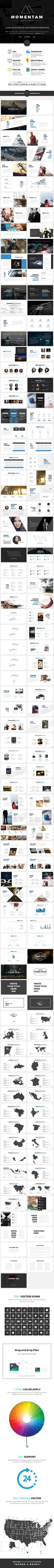 Momentam Powerpoint  • Only available here ➝ https://graphicriver.net/item/momentam-powerpoint/17733557?ref=pxcr