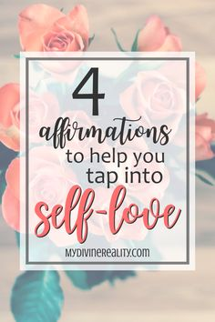 These 4 affirmations for Self-Love are great! They are simple yet powerful reminders. I'm so glad I found them! Live For Yourself, Create Yourself, Finding Yourself, Judging Others, Self Care, Life Is Good, Affirmations, Love, Simple