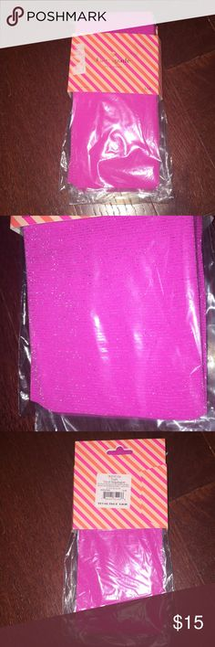 Kate spade pink stripe shimmer tights size s/ Brand new Kate spade pink stripe shimmer tights size small medium called vivid snapdragon color kate spade Accessories Hosiery & Socks