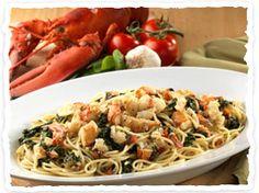 Recipe For  Olive Garden Lobster Spaghetti