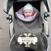 Car or Stroller Bundle Bag Pattern - via @Craftsy