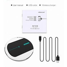 Nillkin Magic Disk Qi Wireless Charger Charging Pad for Nexus 6 Nexus 5 LG G3 Nokia Lumia 930 830 Wireless Charger Pad
