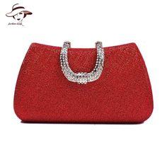 Fashion Clutch Tote Diamonds Evening Bags Gold Chain Women Bag Wedding Party Shoulder Bags Famous Brand Ladies Wallet Purses - HandBagList