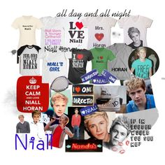 i would wear every T-shirt for every day of september because nialls birthday is in september