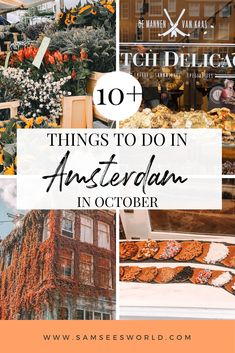 October is officially the fall season in Amsterdam which means the leaves are changing colors, the weather is cooling off, and the city starts to feel more cozy and romantic. If you love fall and all that it brings, Amsterdam is the perfect place to fully feel this season. Plus, there are even some special events that take place in Amsterdam in October that should not be missed.