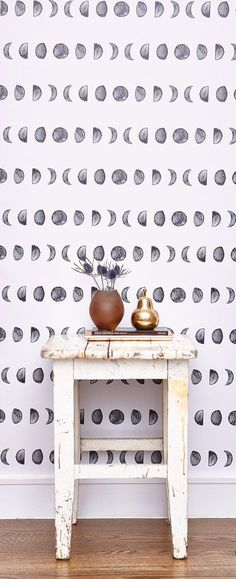 The faces of the moon is a perfect fit for any room.