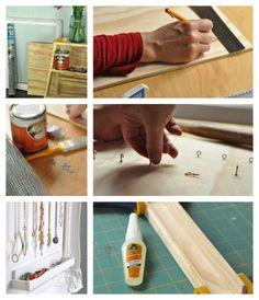 Selbstgemachter Lifestyle – DailyArtDesign macht mit, Teil 18: Schmuck aufbewahren | Daily Art Design