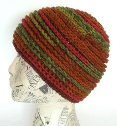 Easy Scrappy Beanie Crochet Pattern PDF   permission by timaryart, $3.00