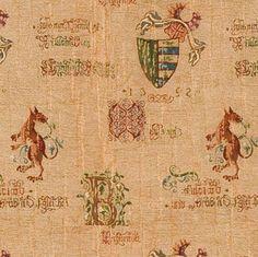 Gothic Manuscript Door Curtain