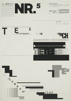 Wolfgang Weingart - Influential Designer on the look of postmodern graphic design.