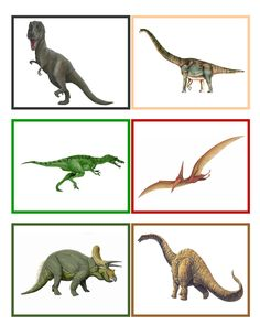Dinosaur Memory Game is a fun way for preschoolers to develop important memory skills Summer School 2017, Dinosaur Silhouette, Dinosaurs Preschool, Dinosaur Birthday Party, School Projects, Early Childhood, Habitats, Lesson Plans, Montessori