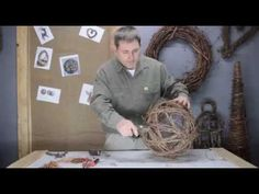How to make a Grapevine Ball - YouTube