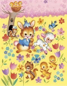 Vintage Easter Cuteness