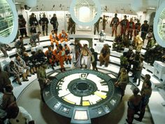 """Star Wars Rebel Ship Briefing. I guess this is what a """"good"""" PowerPoint looks like."""