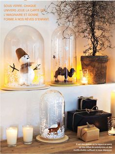 check out the other cloche decorating ideas!