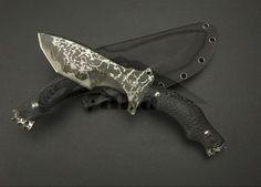 New Japan Kiku Matsuda fixed blade hunting knives with Micartra handle military knife Outdoor Tools 60HRC