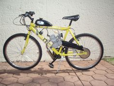 All done! Motorized Bicycle, Vehicles, Car, Vehicle, Tools