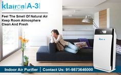 Klairon-A3 touch screen Air Purifier works to eliminate these airborne germs and unpleasant odour with this incredible oxidation capacity. Small portable and a plug-to-go design, this hassle-free unit strives to provide fresh quality air.