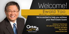 Featuring our new promising agent Ewald Yao. Glad to be onboard...