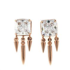 Crystal Dangling Earrings, $170, now featured on Fab.