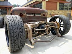 Mike Partyka's '31 Ford Model A Rat Rod
