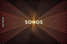 Sonos new logo pulses like a speaker when you scroll.