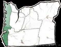 Astoria, Oregon: One of the rainiest places in the United States. Oregon Coast