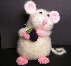 Pdf Crochet Pattern PUDGY LITTLE MOUSE