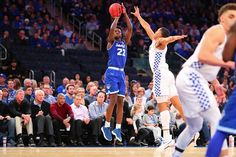 "Pirates Scuttle Wildcats (haiku) ""What's better than one - clutch last second three? Try three - clutch last second threes"" Seton Hall's Myles Cale hit a go-ahead 3-pointer in overtime to help upset Kentucky"