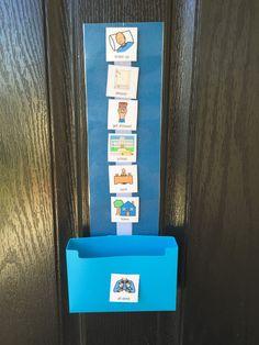 Visual schedule special needs routine schedule autism aspergers ABA PEC symbols boardmaker 40 symbols classroom teacher elementary materials Visual Timetable, Visual Schedules, Visual Schedule Autism, Autism Classroom, Special Education Classroom, Classroom Teacher, Autism Activities, Autism Resources, Shape Activities