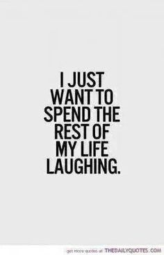 Give me laughter, or nothing at all...