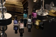 Deborah Lippman's New Fall 2014 Nail Polish collection is full of luxe metalics w/ a chrome finish
