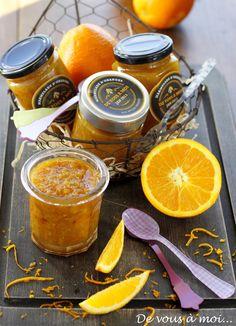 De vous à moi...: Crêpes à la Marmelade d'Oranges aux Epices Douces