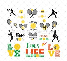 Tennis SVG Cut Files, Tennis Love SVG, Tennis Ball SVG, Tennis Monogram Frames svg cut files for Cricut and Silhouette, svg files Vine Monogram, Circle Monogram, Monogram Decal, Monogram Fonts, Monogram Letters, Monograms, Graphic Design Software, Silhouette Cameo Projects, Svg Cuts