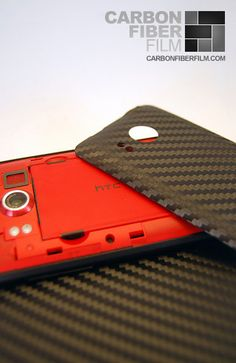 DIY carbon fiber phone case. Project cost about $8
