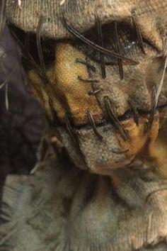 Cornfield Frankenstein | Grim Stitch Factory Scarecrow Halloween Makeup, Scarecrow Mask, Halloween Costumes Scarecrow, Halloween Costume Contest, Halloween Masks, Scary Halloween, Scarecrow Cosplay, Halloween Crafts, Creepy Masks