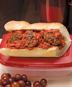 Delicious meatball sub for Superbowl Sunday, gluten-free and free of top allergens! Lovely recipe to try!