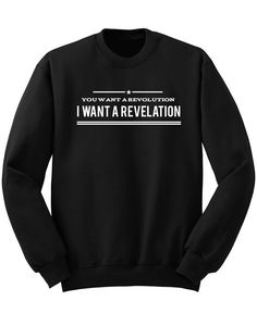 You Want A Revolution Sweatshirt Hamilton by ProFangirlShop