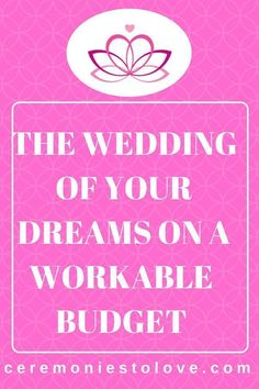 Every bride has a dream wedding in her mind. And sometimes during the planning process it collides with the wedding budget. read this collection of tips that provide ideas of how to cut the cost of your wedding, without destroying your dream. Plan Your Wedding, Budget Wedding, Wedding Tips, Diy Wedding, Wedding Reception, Destination Wedding, Wedding Planning, Dream Wedding, Wedding Day