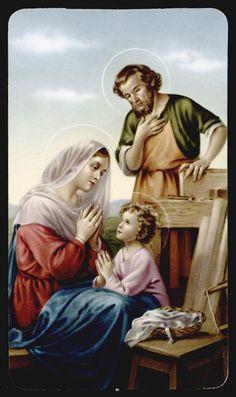 "santino-holy card ""ediz.NB serie LIPPI n.20 SACRA FAMIGLIA"