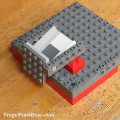 Lego violet à pointes angulaires cheveux pour minifigs masculin féminin rare new