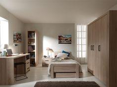 KINDERKAMER ALINE VIPACK - Halfhoogslaper, Kinderbed, Jeugdkamer | De Boomhut Girl Room, Kids Bedroom, Corner Desk, Home And Garden, House, Furniture, Home Decor, Products, Board