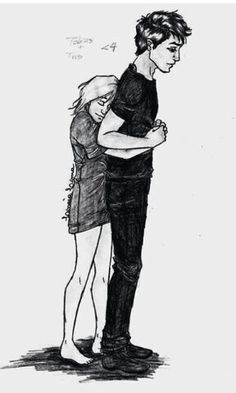 This was exactly how i pictured them while reading the books!!:)  FOURTRIS ♥ -By Linaia on deviantArt