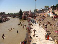 #magiaswiat #Haridwar #podróż #wakacje #zwiedzanie # indie #blog #ghaty #ganges #rzeka Haridwar, Dolores Park, Indie, Street View, Blog, Travel, Viajes, Blogging, Destinations