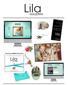 Lila Coco Dress - Blanco & Negro - Blanco & Negro