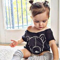 Resultado de imagen para peinados para niñasde 9 meses