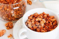 Гранола с грецким орехом - рецепт с фото